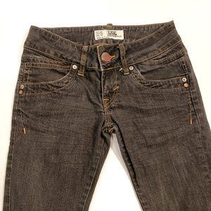Zara TRF black denim skinny jeans size 4